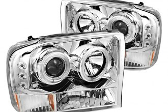 Spyder® PRO-YD-FF25099-1P-G2-CCFL-C - Chrome CCFL Halo Projector Headlights with LEDs G2