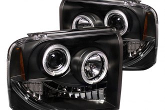 Spyder® PRO-YD-FS05-HL-BK - Black Halo Projector Headlights with LEDs