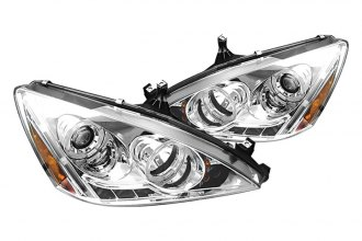 Spyder® PRO-YD-HA03-AM-C - Chrome Halo Projector Headlights with LEDs