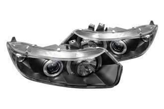 Spyder® PRO-YD-HC06-2D-HL-BK - Black Halo Projector Headlights