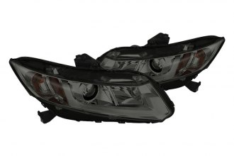 Spyder® - Smoke Projector Headlights with Light Bar DRL