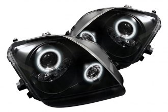 Spyder® PRO-YD-HP97-CCFL-BK - Black CCFL Halo Projector Headlights