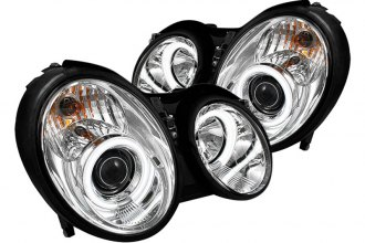 Spyder® PRO-YD-MBCLK98-CCFL-C - Chrome CCFL Halo Projector Headlights