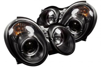 Spyder® PRO-YD-MBCLK98-HL-BK - Black Halo Projector Headlights