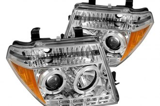 Spyder® PRO-YD-NF05-CCFL-C - Chrome CCFL Halo Projector Headlights with LEDs