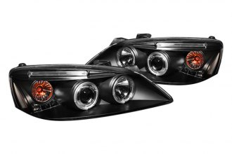 Spyder® PRO-YD-PG605-CCFL-BK - Black CCFL Halo Projector Headlights with LEDs