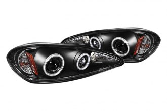 Spyder® PRO-YD-PGAM99-CCFL-BK - Black CCFL Halo Projector Headlights with LEDs