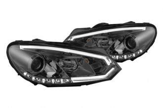 Spyder® - Smoke Projector Headlights with Light Tube DRL