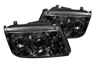 Spyder® PRO-YD-VJ99-HL-SMC - Smoke Halo Projector Headlights with LEDs