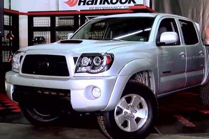 spyder toyota tacoma 2005 black halo projector headlights with rh carid com 2007 Toyota Tacoma 2003 Toyota Tacoma