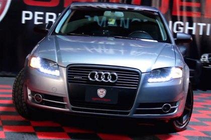 Spyder Audi A A Allroad A Quattro With Factory Halogen - 2006 audi a4 headlights