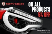 Spyder Special Offers
