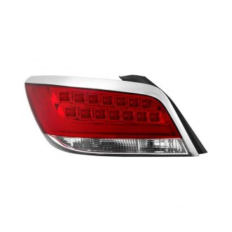Spyder® - Chrome/Red Factory Style LED Tail Light