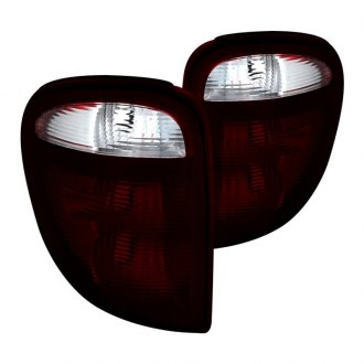 Spyder® - Chrome Red/Smoke Factory Style Tail Lights
