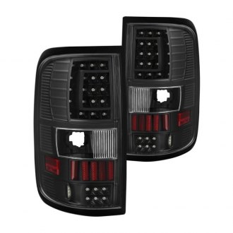 Spyder® - C-Shape Black Fiber Optic LED Tail Lights