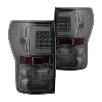 Spyder® - Chrome/Smoke Fiber Optic LED Tail Lights