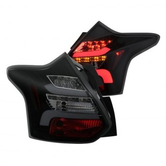 Spyder® - Black Red/Smoke Sequential Fiber Optic LED Tail Lights