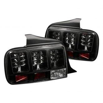 Spyder Black Red Led Tail Lights