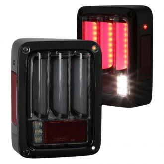 Spyder® - Black/Smoke Sequential Fiber Optic LED Tail Lights