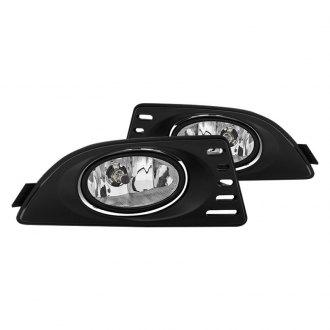 Acura RSX Custom Factory Headlights CARiDcom - 2006 acura rsx headlights