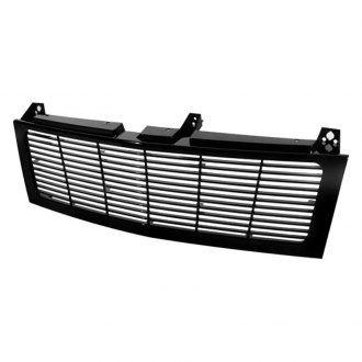 Spyder® - 1-Pc Conversion Black Horizontal Billet Grille