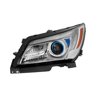 Spyder® - Chrome Factory Style Projector Headlight with LED DRL