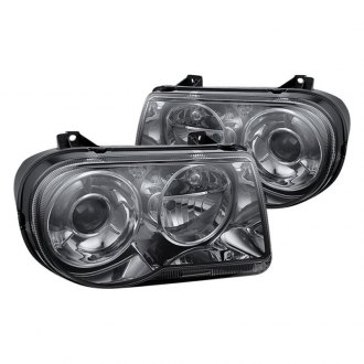 Spyder® - Chrome/Smoke Factory Style Projector Headlights