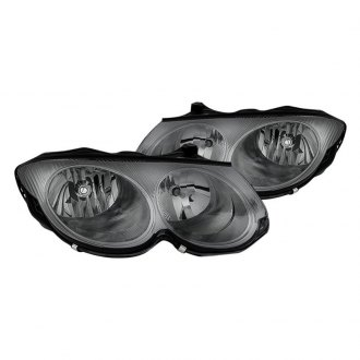 Spyder Chrome Smoke Euro Headlights