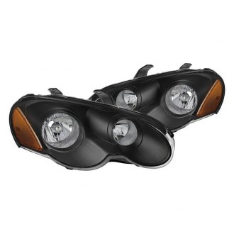 Spyder Black Euro Headlights