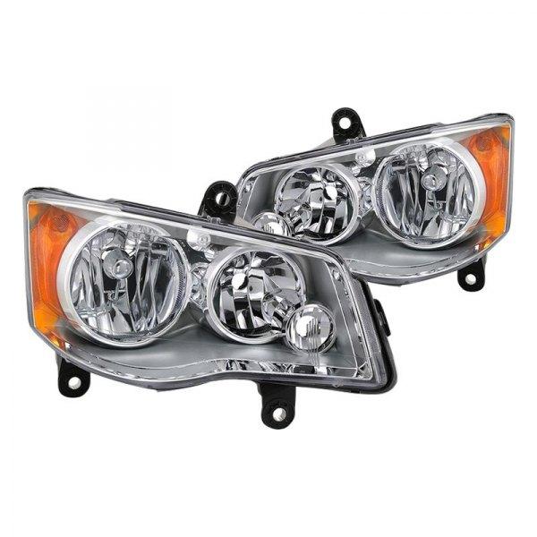 Dodge Grand Caravan 2011 Factory Style Headlights