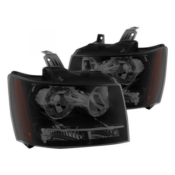 Spyder® - Black/Smoke Euro Headlights