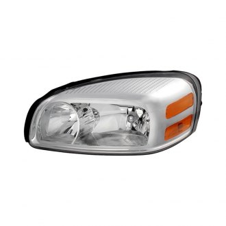 Spyder® - Driver Side Chrome Factory Style Headlight