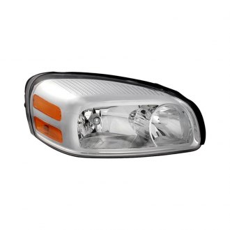 Spyder® - Passenger Side Chrome Factory Style Headlight