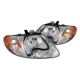Spyder Chrome Euro Headlights