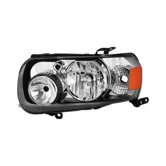Spyder Black Chrome Factory Style Headlight