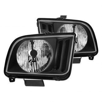 Spyder Black Factory Style Headlights