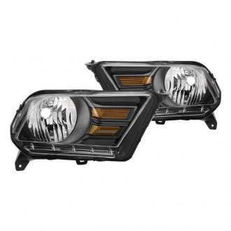 Spyder® HD-JH-FM10-AM-BK - Black Factory Style Headlights