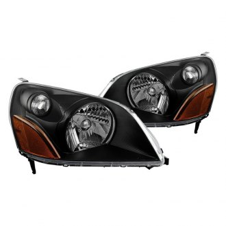 Spyder® HD-JH-HPIL03-AM-BK - Black Euro Headlights