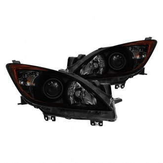 Spyder® - Black/Smoke Factory Style Projector Headlights