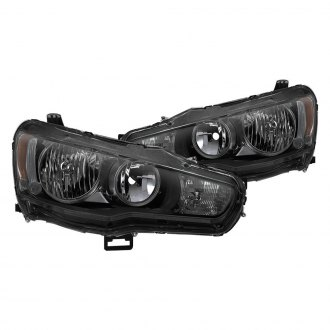 Spyder® - Black/Smoke Factory Style Headlights