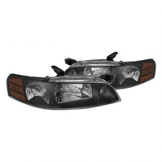 Spyder® HD-JH-NA00-AM-BK - Black Euro Headlights