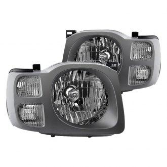 spyder nissan xterra se 2002 chrome factory style headlights spyder chrome factory style headlights