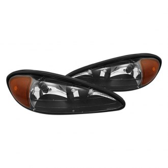 Spyder Black Euro Headlights