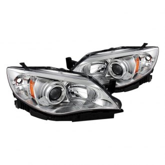 Spyder® HD-JH-SI08-AM-C - Chrome Projector Headlights