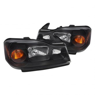 Spyder® HD-JH-SVUE06-AM-BK - Black Euro Headlights