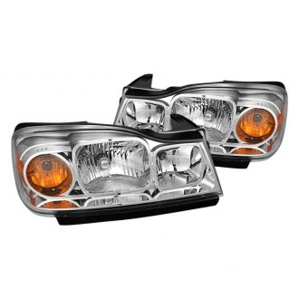 Spyder Chrome Euro Headlights