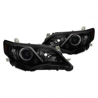 2012 toyota camry headlight size