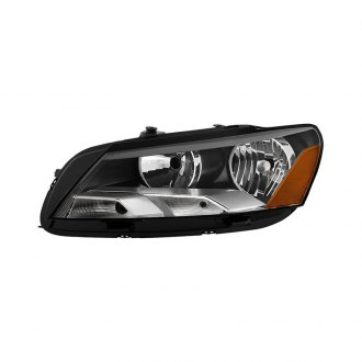 Spyder® - Black/Chrome Factory Style Headlight