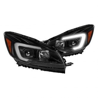 2013 Ford Escape Custom Factory Headlights Carid Com
