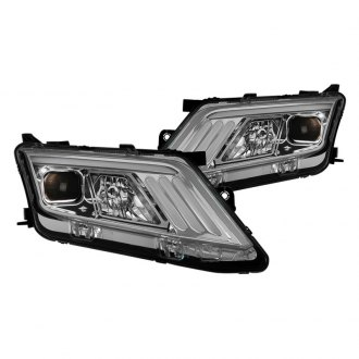 Spyder® - Chrome LED DRL Bar Projector Headlights